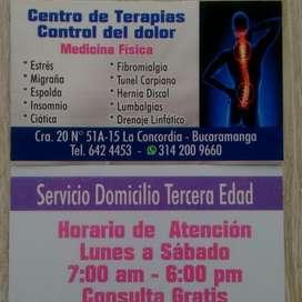 Terapias fisicas para Dolores Musculares