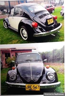 Vendo escarabajo modelo 1974 Precio negociable