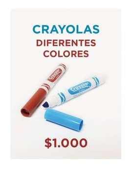 CRAYOLAS COLORES