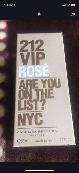 Perfume 212 vip rose