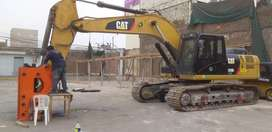 martillo hidraulico CAT 330, CAT336, CAT326