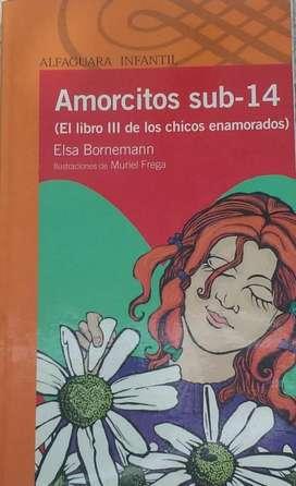 Vendo libro: Amorcitos Sub14 de Elsa Bornemann