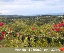 Venta Terreno en Olon 1750 mts2