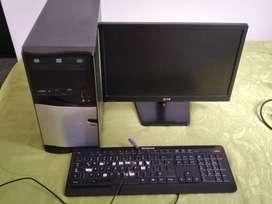 Vendo monitor, teclado y CPU