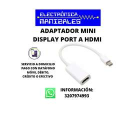 ADAPTADOR MINI DISPLAY PORT A HDMI