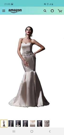 Vestido de novia americano -usado-