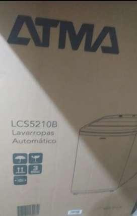 Lavarropas ATMA Carga Superior. Lcs5210b. 7kgs.