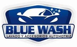 lavador de auto con moto