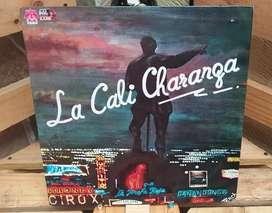 Vinilo Long Play Lps Acetato Pasta Vinyl LA CALI CHARANGA