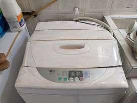 Lavadora LG 18 libras blanca