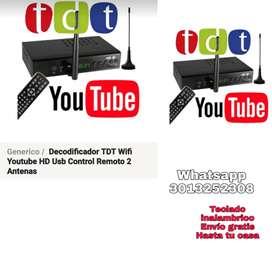 TDT con WIFI para tu tv antiguo o lcd
