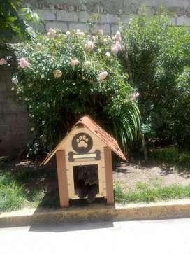 Casa para Perros Caoba