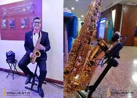Saxofonista a su Servicio