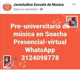 Pre-universitario presencial música Soacha