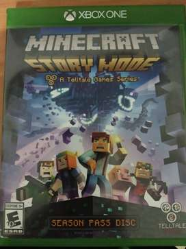 Vendo CambioMinecraft Story mode para Xbox One