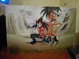 Retratos Murales Y Caricaturas