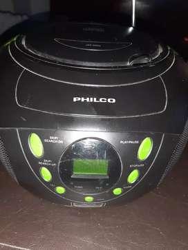 Reproductor philco Cd/usb/mp3 ,Radio Am/fm, usado segunda mano  Godoy Cruz, Mendoza