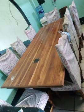 Vendo mesa comedor con 8 sillas