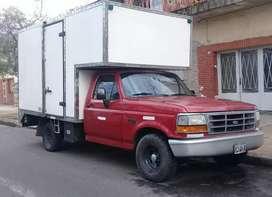 Ford f1000 motor cumming turbo diesel. Caja clark 5 cambios