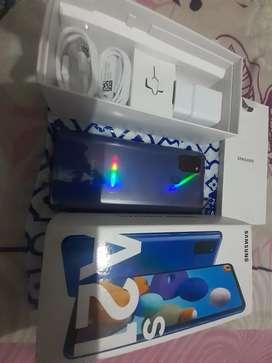 Samsung a21s 128gb dual SIM  con vidrio cerámico
