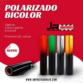 Polarizado Negro / Bicolor 60M