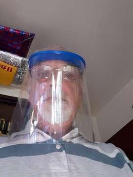 Mascara Protectora Facial con Impresora de 3D450