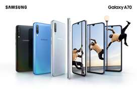 SAMSUNG GALAXY A70 128GB DS BLACK