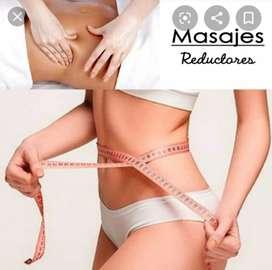 Masajes antiestrés estetico reductores Drenaje linfático dolores musculares