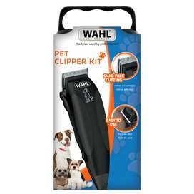 Maquina de peluquería canina wahl pet clipper kit