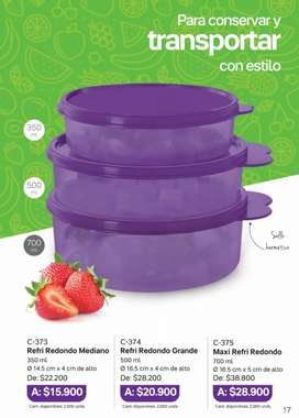 Set Refri Tupperware promo