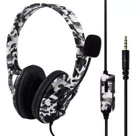 Auricular headset P4-890 PRO camuflaje