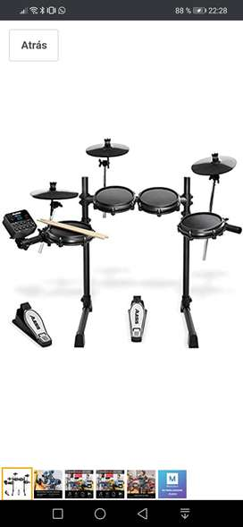 Bateria electrónica Turbo Mesh Drum Kit Alesis