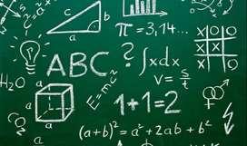 Clases de Matematicas primaria y bachillerato.