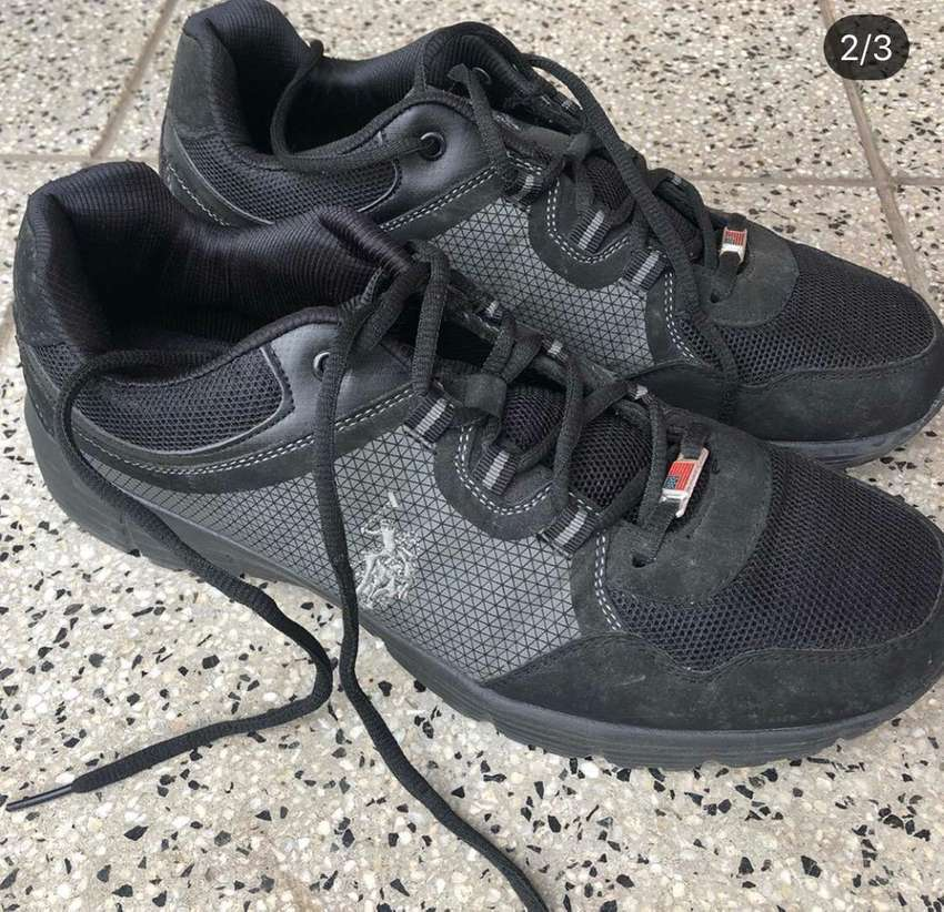 Zapatillas negra Polo 0