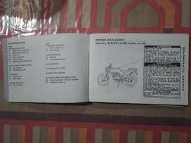 Manual Original Honda Ns 50.