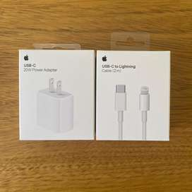Carga rápida apple cable 2m y cubo 20w
