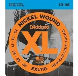 D'Addario EXL 110 Cuerdas Electric Guitar Strings .10-.46