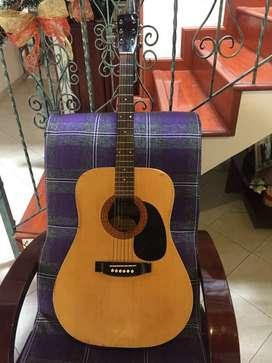 Guitarra electroacustica MORRIS modelo W601M
