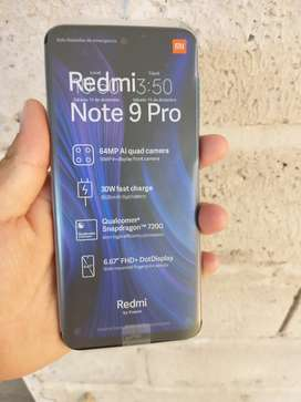 Vendo Xiaomi redmi note 9 pro NUEVO sin uso 0km tropical green