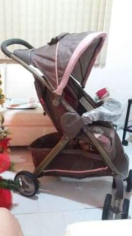 Coche y silla carro bebé