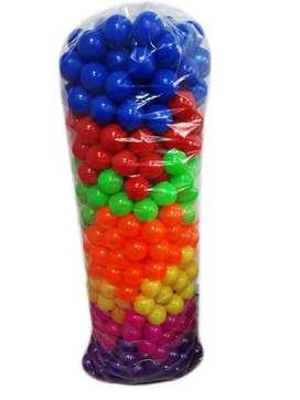 Pelotas plasticas nacaradas para piscina bulto x 500 pelotas