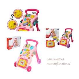 Caminadora Andadora Musical Baby Walker Didáctico Bebés caminador estimulación temprana