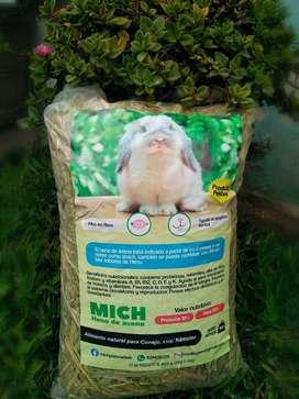 Heno Premium para Conejo Cuy Chinchilla