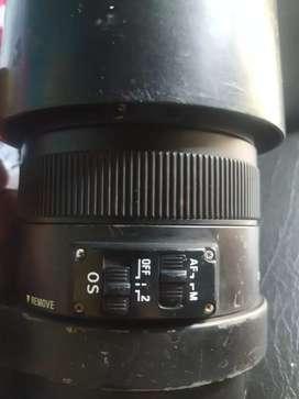 Lente Sigma 120- 400mm Teleobjetivo,Precio x detalle de uso, permuto x CELULAR