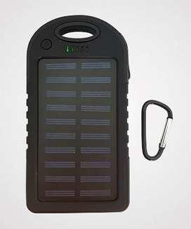 Cargador power bank. Carga solar