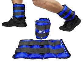 Pesas Tobilleras o Muñecas 2Kg, 3Kg Fitness Gym Ejercicios