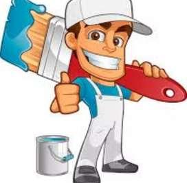 Trabajos de pintura garantizados