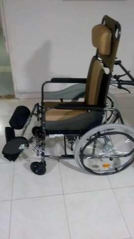 silla de ruedas nueva