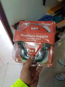 Audifono Tipo Supple Con Microfono Para Computador PC