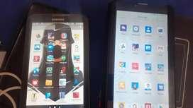 De oportunidad se vende 2 tablet,  de 7pulgadas para chip , Samsung tab3 y Logic t4k ,cero detalles a toda prueba 10/10
